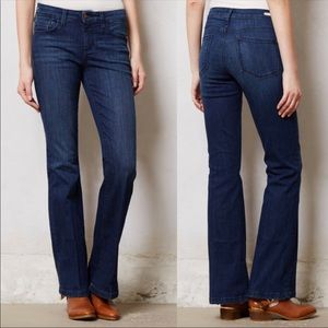 Anthropologie Pilcro Mid Rise Stet Flare Jeans